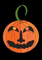 Malvorlage für Halloween