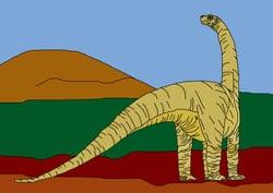 Ausmalbilder - Dinos