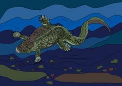 Ausmalbilder - Dinosaurier