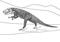 Ausmalbilder Dinosaurier Basteln Gestalten