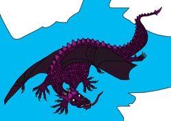 Ausmalbilder - Drachen