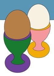 Malvorlagen - Eier