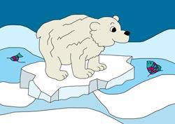 Ausmalbilder Eisbär