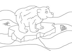 Northern Lights Tattoo Coloring Pages