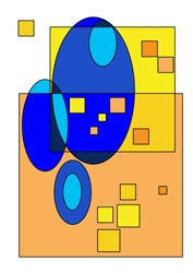 Ausmalbilder Quadrate