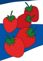 Malvorlagen Erdbeeren
