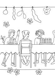 Ausmalbilder Geburtstag Basteln Gestalten