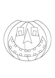 Ausmalbilder Halloween Basteln Gestalten