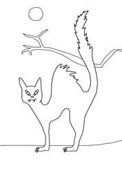 Malvorlagen - Katze
