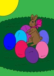 Ausmalbilder für Ostern