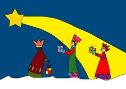 Ausmalbilder für die Weihnachtszeit