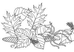 Ausmalbilder Herbst Basteln Gestalten