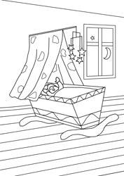 ausmalbilder - kleine kinder   basteln  gestalten