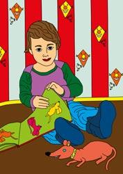 Malvorlagen - Kleinkind