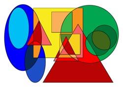 Ausmalbilder Dreieck