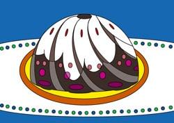 Ausmalbilder geburtstag basteln gestalten for Kuchen farbig gestalten