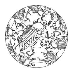 Mandalas Für Den Frühling Basteln Gestalten
