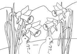 Malvorlagen Frühling Basteln Gestalten