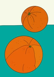 Ausmalbilder Orangen