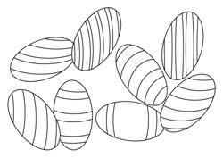 ausmalbilder - ostern | basteln  gestalten