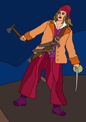Piraten Ausmalbilder