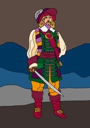 Malvorlagen Pirat 2