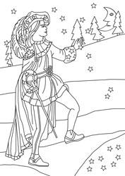 malvorlagen für märchen | basteln & gestalten