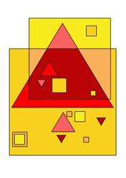 Malvorlagen Dreiecke