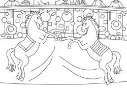 Malvorlagen Zirkus Basteln Gestalten