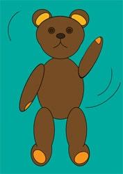 Ausmalbilder Teddybär