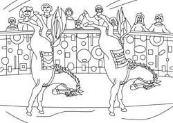ausmalbilder zirkus - ausmalbilder