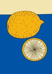 Ausmalbilder Zitrone