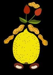 Malvorlagen Zitronen Figur