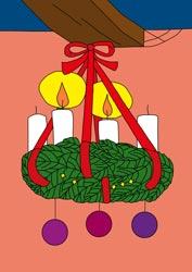 Ausmalbilder Für Die Adventszeit Basteln Gestalten