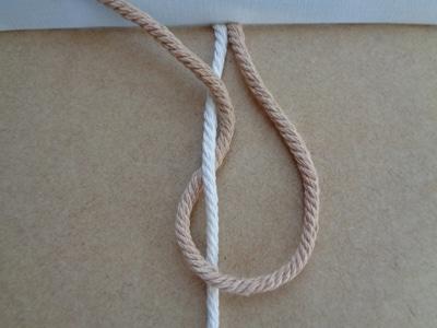 Knoten für Armband