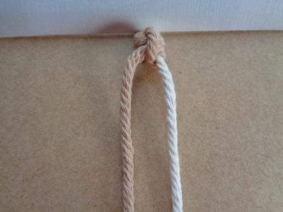 fertiger Rechts-Links-Knoten