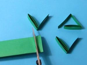 Blätter aus Papier