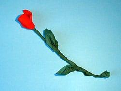 Rosen basteln