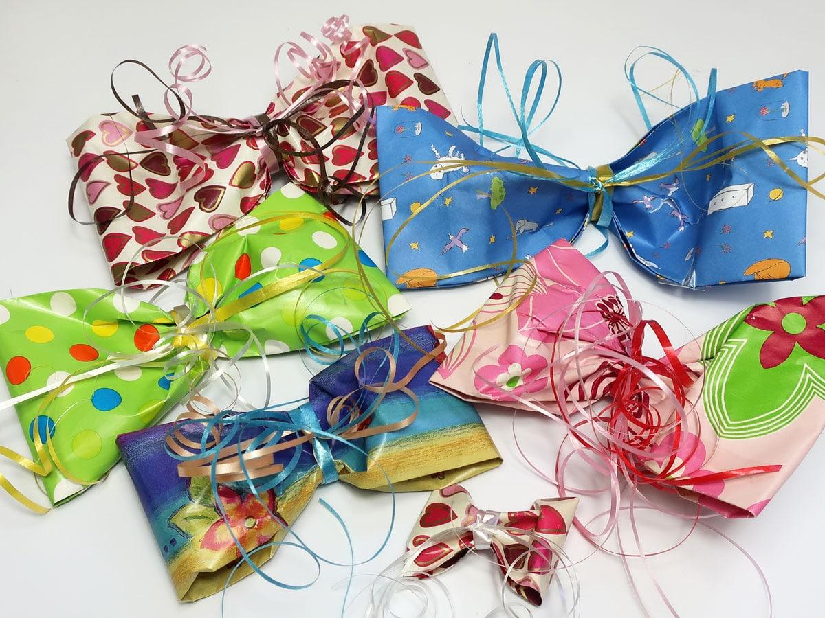 Geschenkschleifen basteln