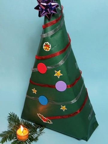 Tannenbaum Geschenkverpackung
