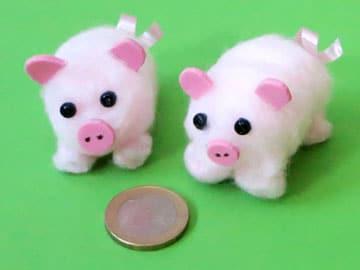 Glücksschweinchen basteln