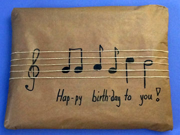 Geburtstags Geschenke Verpacken Basteln Gestalten