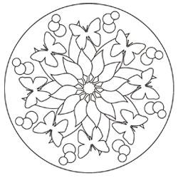 Mandala Vorlagen Basteln Gestalten