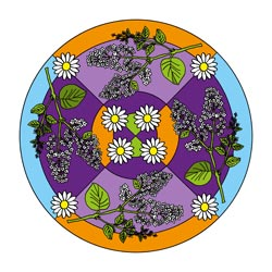 Mandalas zum Frühling