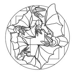 Mandalas Zu Halloween Basteln Gestalten