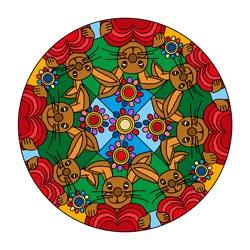 Mandalas für Ostern