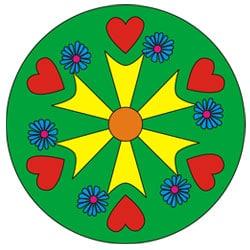 Herz Mandala