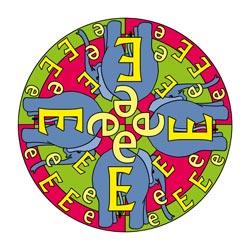 Mandala Buchstaben