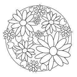 Mandala Für Glückwünsche Basteln Gestalten
