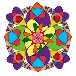 Mandala zum Muttertag